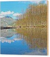 Coldwater Lake Wood Print