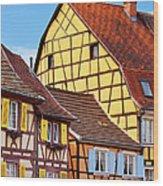 Colmar - Alsace Wood Print