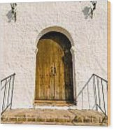 Colonial Door Wood Print