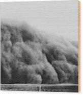 Colorado Dust Storm, 1935 Wood Print