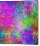 Colorful Abstract Wood Print