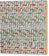 Colorful Blanket Wood Print