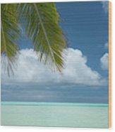 Cook Islands, Aitutaki (aka Araura Wood Print
