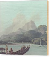 Cook Tahiti, 1773 Wood Print
