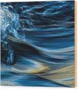 Cool Splash Wood Print