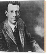 Coolidge X-ray Tube Inventor Wood Print