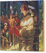 Cooper: Deerslayer, 1925 Wood Print