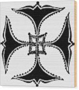 Coptic Cross Wood Print