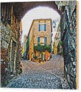 Cordes Sur Ciel France Wood Print