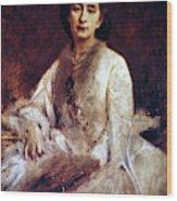 Cosima Wagner (1837-1930) Wood Print