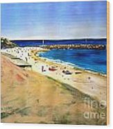 Cottesloe Beach Wood Print