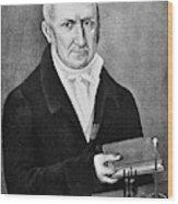 Count Alessandro Volta (1745-1827) Wood Print