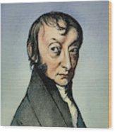 Count Amedeo Avogadro (1776-1856) Wood Print