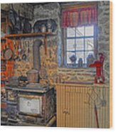 Country Kitchen Wood Print