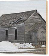 Country School Wood Print