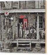 Country Store Coca-cola Signs Dorothea Lange Photo Gordonton North Carolina July 1939-2014 Wood Print