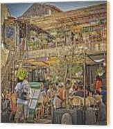 Creperie Restaurant Carcassonne Dsc01697 Wood Print