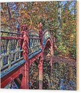 Crim Dell Bridge Wood Print