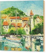 Croatia - Split Wood Print