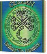 Cullen Ireland To America Wood Print