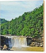 Cumberland Falls Wood Print