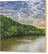 Cumberland River Wood Print