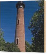 Currituck Beach Lighthouse Wood Print