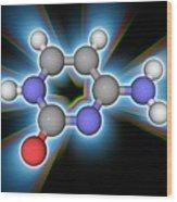 Cytosine Organic Compound Molecule Wood Print