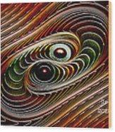Dance Galactica Wood Print