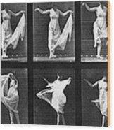 Dancing Woman Wood Print