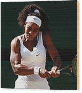 Day Ten The Championships - Wimbledon Wood Print