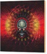 Deadstep - Hellfire Remix Wood Print