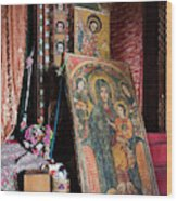 Debre Berhan Selassie Church In Gonder Wood Print