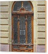 Decorative Door Wood Print