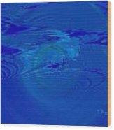 Deep Sea Wood Print by Thomas Bryant