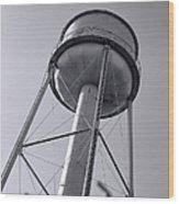 Deer Lodge Montana Water Tower Wood Print