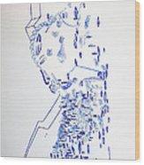 Deity - Nhialic - South Sudan Wood Print