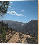 Delphi - Greece Wood Print