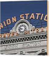 Denver - Union Station Wood Print