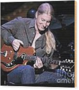 Guitarist Derek Trucks Wood Print