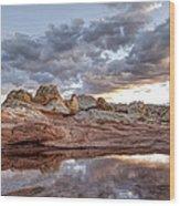 Desert Geology 2 Wood Print