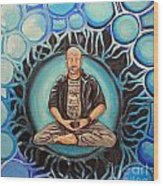 Dharma Dad Wood Print