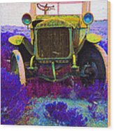 Diamond T Touring Car C.1911 Ghost Town South Pass City Wyoming 1971-2009 Wood Print