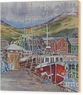 Dingle-harbour-ii Wood Print