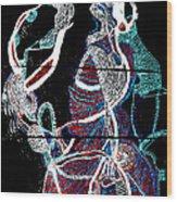 Dinka Wood Print