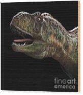 Dinosaur Aucasaurus Wood Print