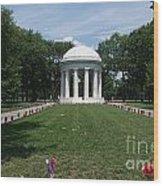 District Of Columbia War Memorial Wood Print