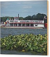 Dixie Boat Wood Print by Thomas Fouch