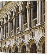 Doges Palace - Venice Italy Wood Print