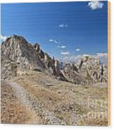 Dolomites - Costabella Ridge Wood Print